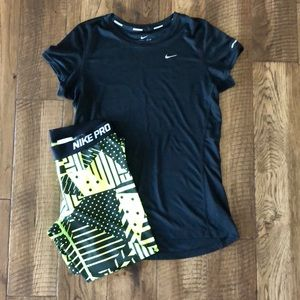 NIke Black Workout Top